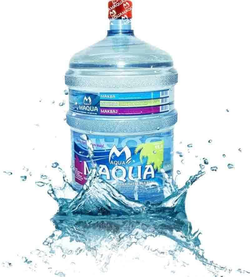 Вода питьевая «MAQUA йод-селен» 18,9л