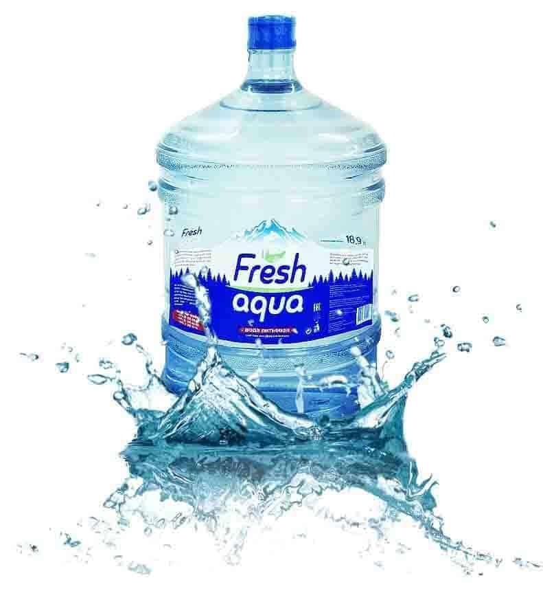 Вода питьевая «Fresh aqua» 19л