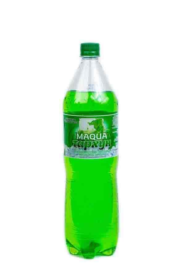 """Напиток безалкогольный газированный """"Maqua"""" (Тархун) 1,5л"""