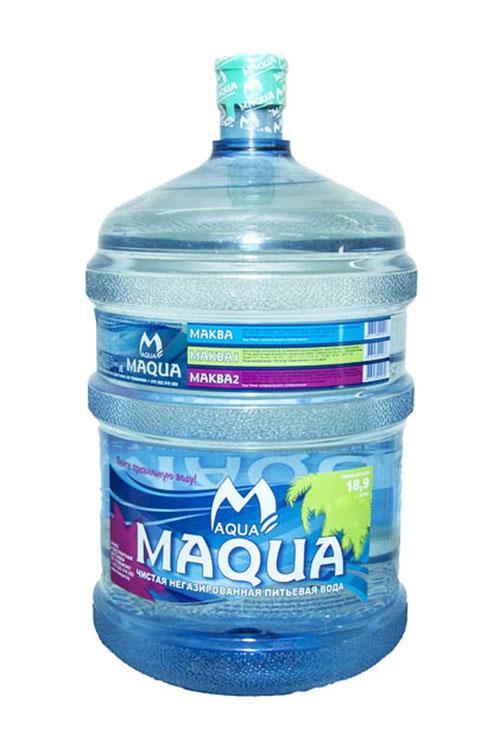Вода питьевая «MAQUA йод-фтор» 19л
